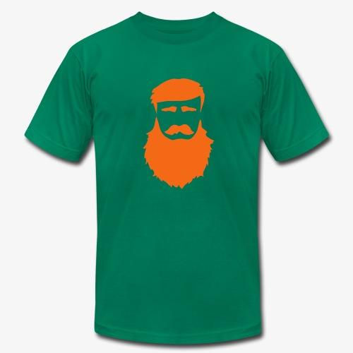 PoM Logo Horizontal V2 REVERSE - Men's Fine Jersey T-Shirt