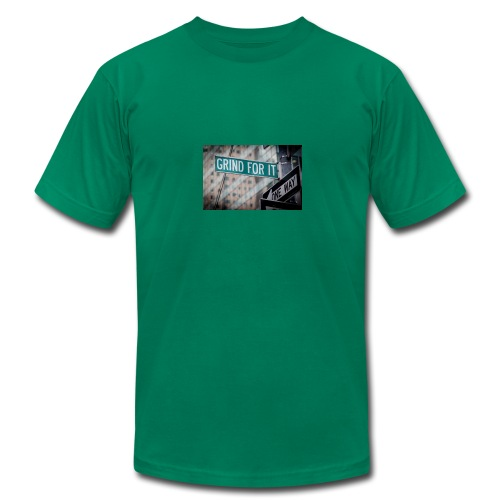 Grind For It Street Sign - Men's Fine Jersey T-Shirt