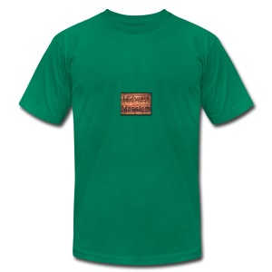 Midwest Monsters Wood Logo - Men's T-Shirt by American Apparel