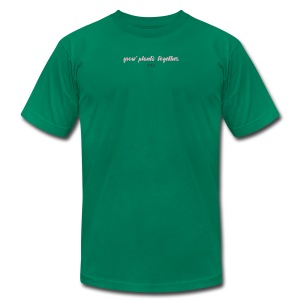 GROW PLANTS TOGETHER by LIVALTO - Men's Fine Jersey T-Shirt