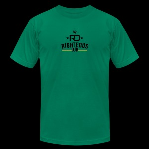 Righteous Dub Logo - Men's T-Shirt by American Apparel
