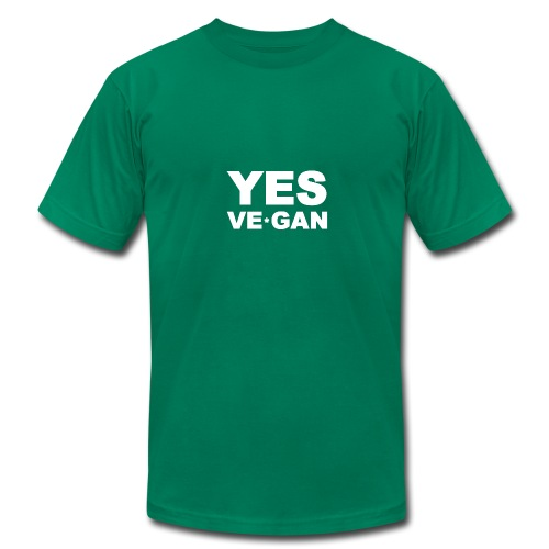 Yes Ve*Gan - Men's Fine Jersey T-Shirt