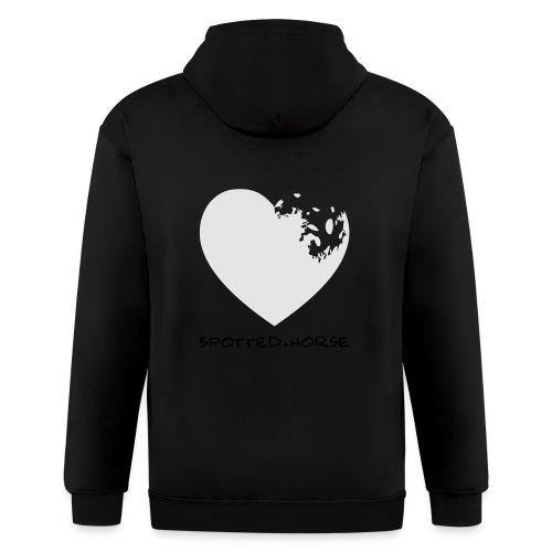 Appaloosa Heart - Men's Zip Hoodie