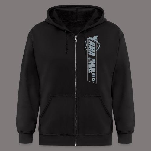 RMA-full-logo-Front-1clr- - Men's Zip Hoodie