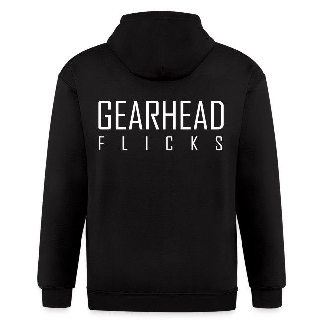 Gearhead Flicks logo white