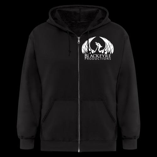 Blackfyre Black - Men's Zip Hoodie