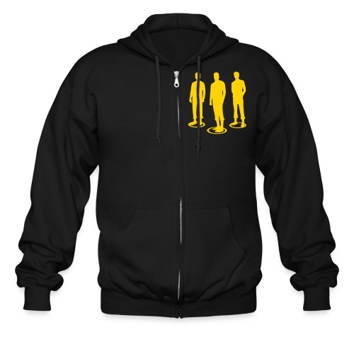 Pathos Ethos Logos 2of2 - Men's Zip Hoodie