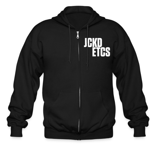 JE_BACK - Men's Zip Hoodie