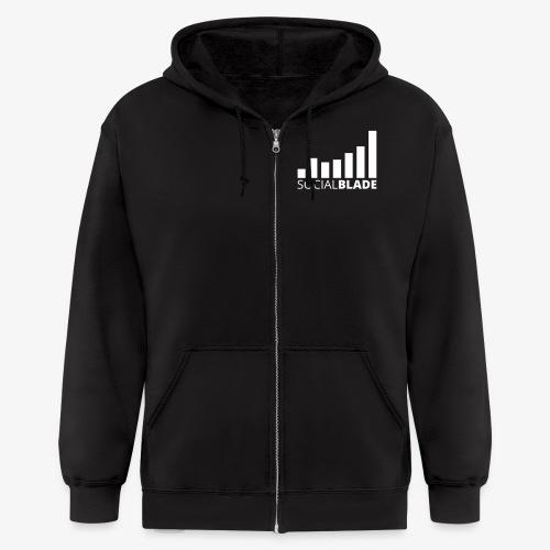 Small Logo - Men's Zip Hoodie