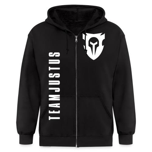 team justus logo - Men's Zip Hoodie