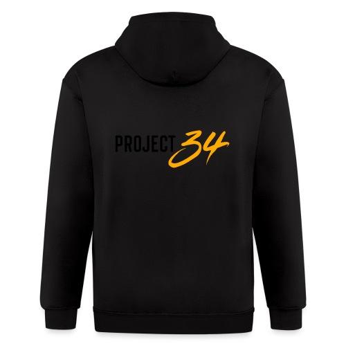 Project 34 - Pittsburgh - Men's Zip Hoodie