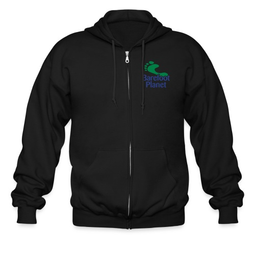 Get Out & Run Barefoot Women's T-Shirts - Men's Zip Hoodie