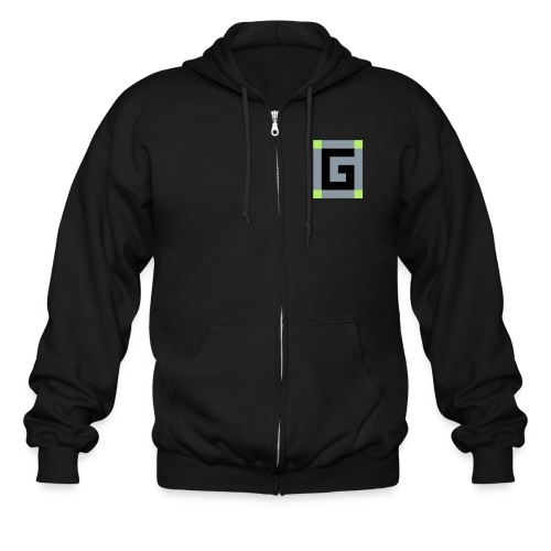 Official G Logo vector Image - Men's Zip Hoodie