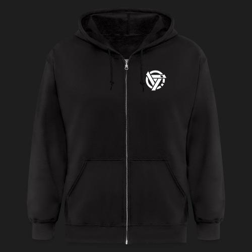 revictus print vector - Men's Zip Hoodie
