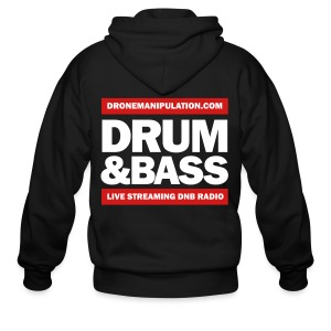 Drum and Bass - Men's Zip Hoodie