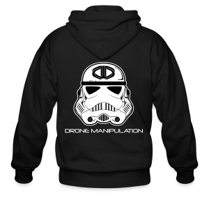 Drone Manipulation - Storm Trooper - Men's Zip Hoodie