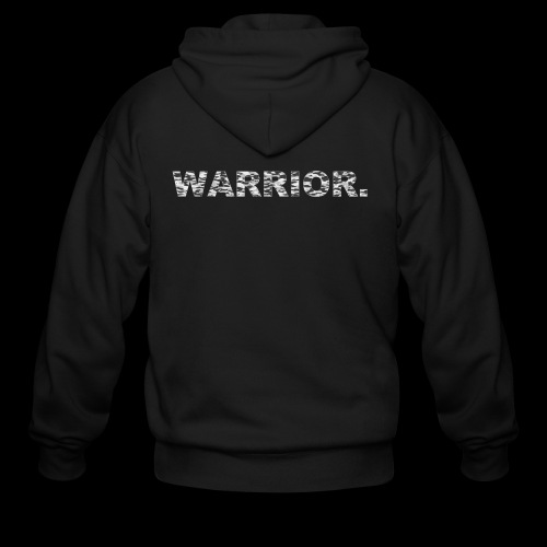 WARRIOR - Men's Zip Hoodie