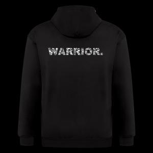WARRIOR - Men's Zip Hoodie