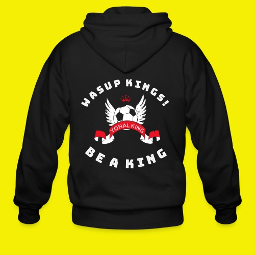 Yonal King Unisex Jacket - Men's Zip Hoodie