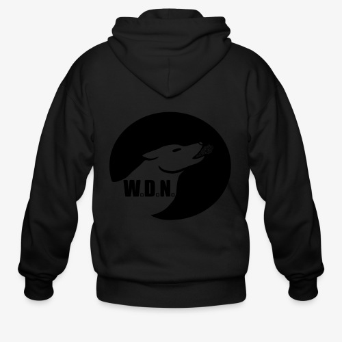 WolfDevourNight - Men's Zip Hoodie