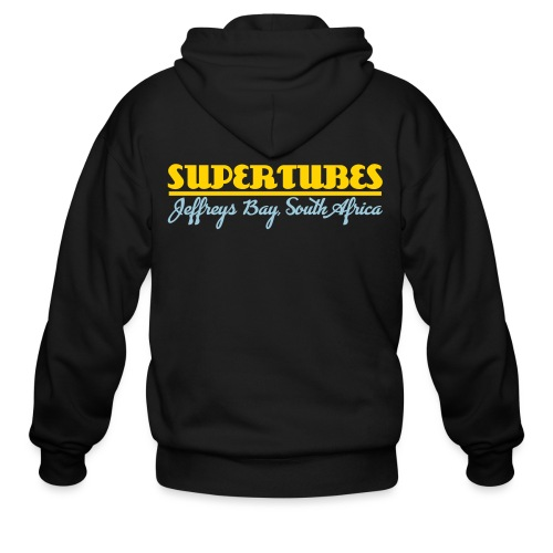Supertubes - Jeffreys Bay - Surfing. South Africa - Men's Zip Hoodie