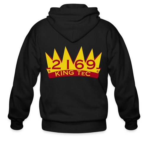 Crown Logo - Men's Zip Hoodie