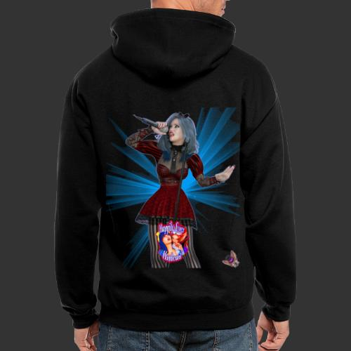 Happily Ever Undead: Alicia Abyss Singer - Men's Zip Hoodie