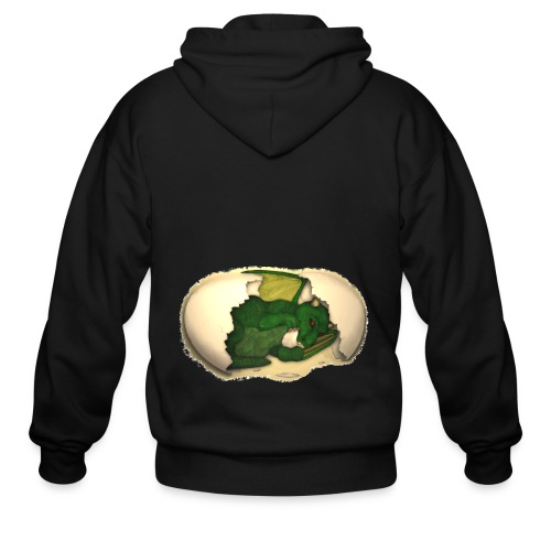 The Emerald Dragon of Nital - Men's Zip Hoodie