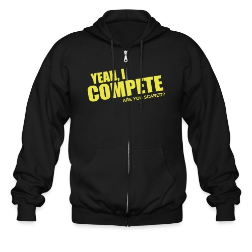 compete - Men's Zip Hoodie