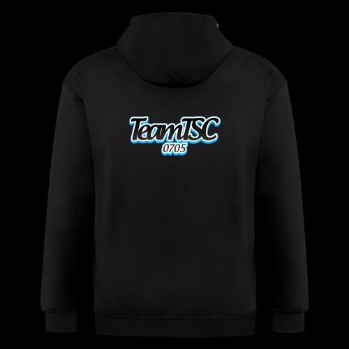 TeamTSC dolphin - Men's Zip Hoodie