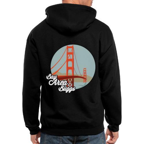 Bay Area Buggs Bridge Design - Men's Zip Hoodie