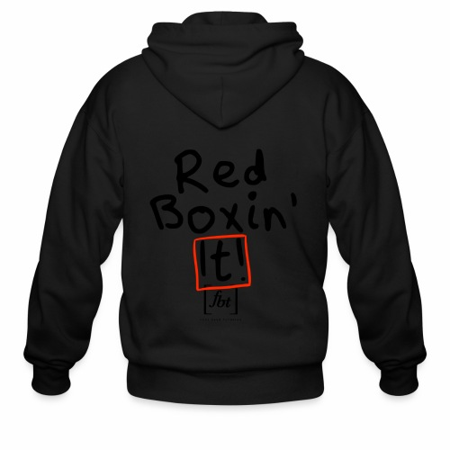Red Boxin' It! [fbt] - Men's Zip Hoodie
