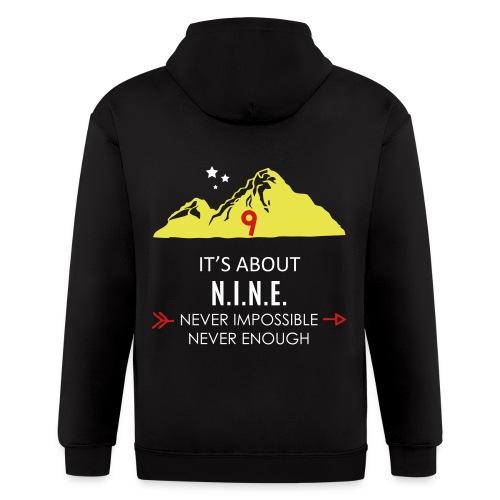 Design Mountain NEW - Men's Zip Hoodie