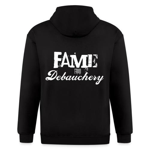 Fame from Debauchery - Men's Zip Hoodie