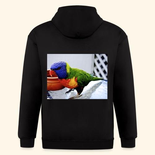 amazing bird - Men's Zip Hoodie