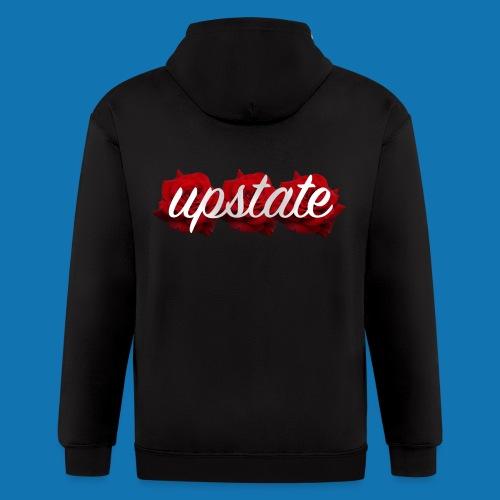 UPST ROSE - Men's Zip Hoodie