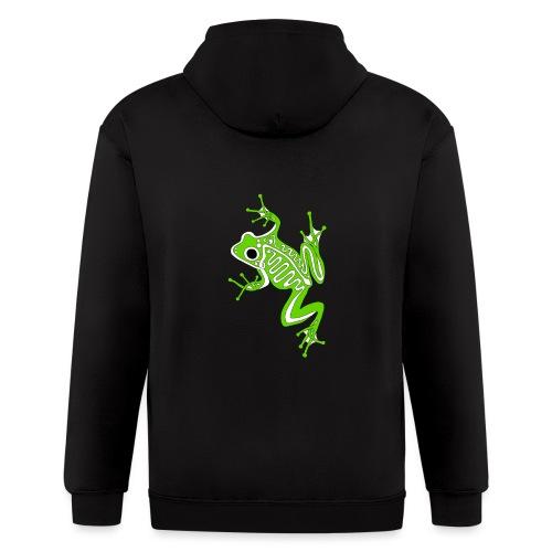 Anglo-Saxon Frog - Men's Zip Hoodie