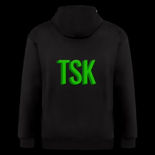 Meget simpel TSK trøje - Men's Zip Hoodie