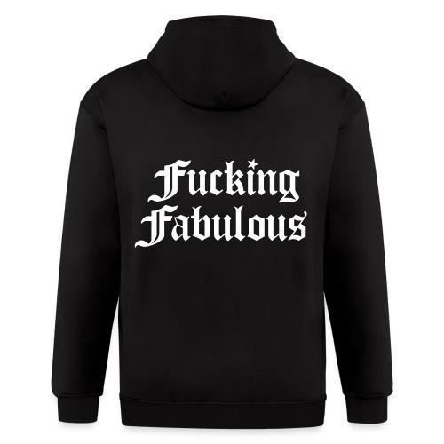 Fucking Fabulous - Men's Zip Hoodie