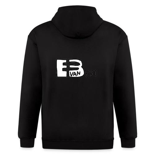 Evan3690 Logo - Men's Zip Hoodie