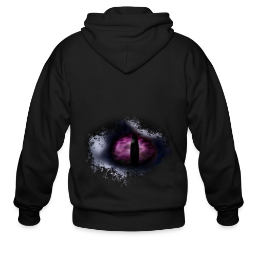 Dragon Eye - Men's Zip Hoodie