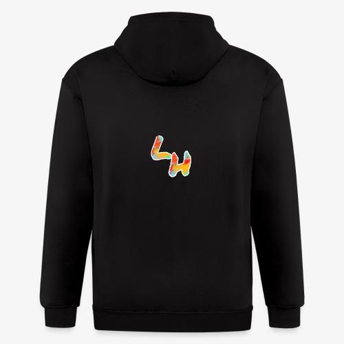 Los Hermanos Logo - Men's Zip Hoodie