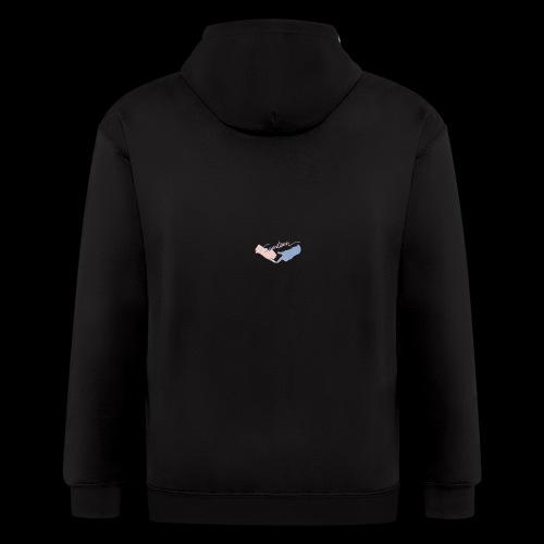Black T-Shirt - Seventeen - Men's Zip Hoodie