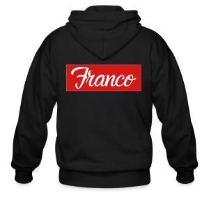 Franco Block - Men's Zip Hoodie
