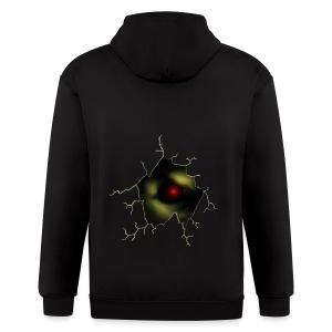 Broken Egg Dragon Eye - Men's Zip Hoodie
