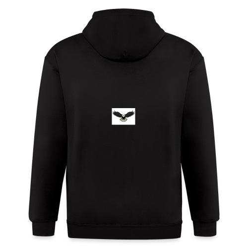 Eagle by monster-gaming - Men's Zip Hoodie