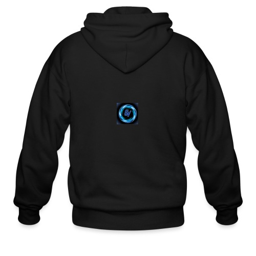 MY YOUTUBE LOGO 3 - Men's Zip Hoodie