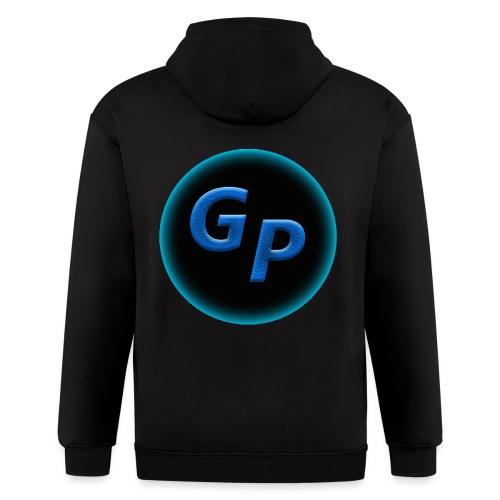 Large Logo Without Panther - Men's Zip Hoodie