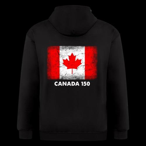Celebrate CANADA 150! - Men's Zip Hoodie