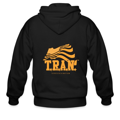 TRAN Gold Club - Men's Zip Hoodie